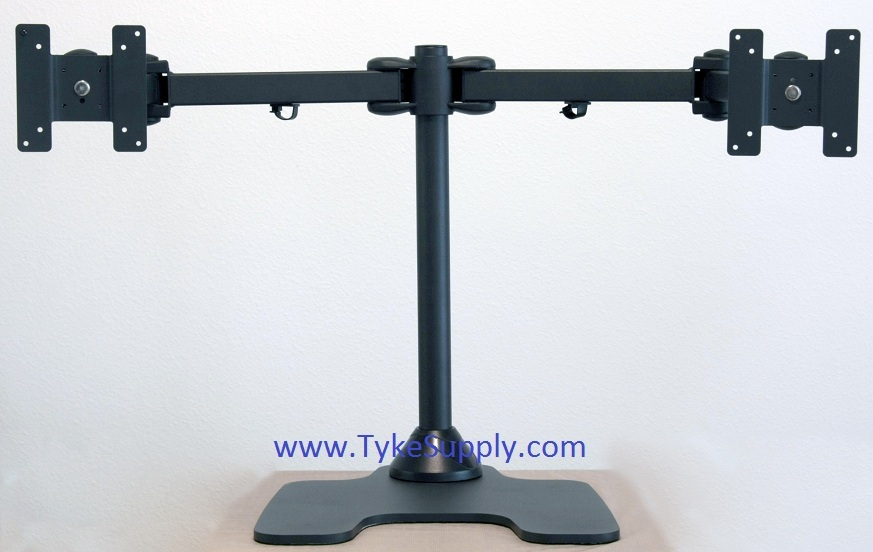 dual pole monitor stand car interior design. Black Bedroom Furniture Sets. Home Design Ideas