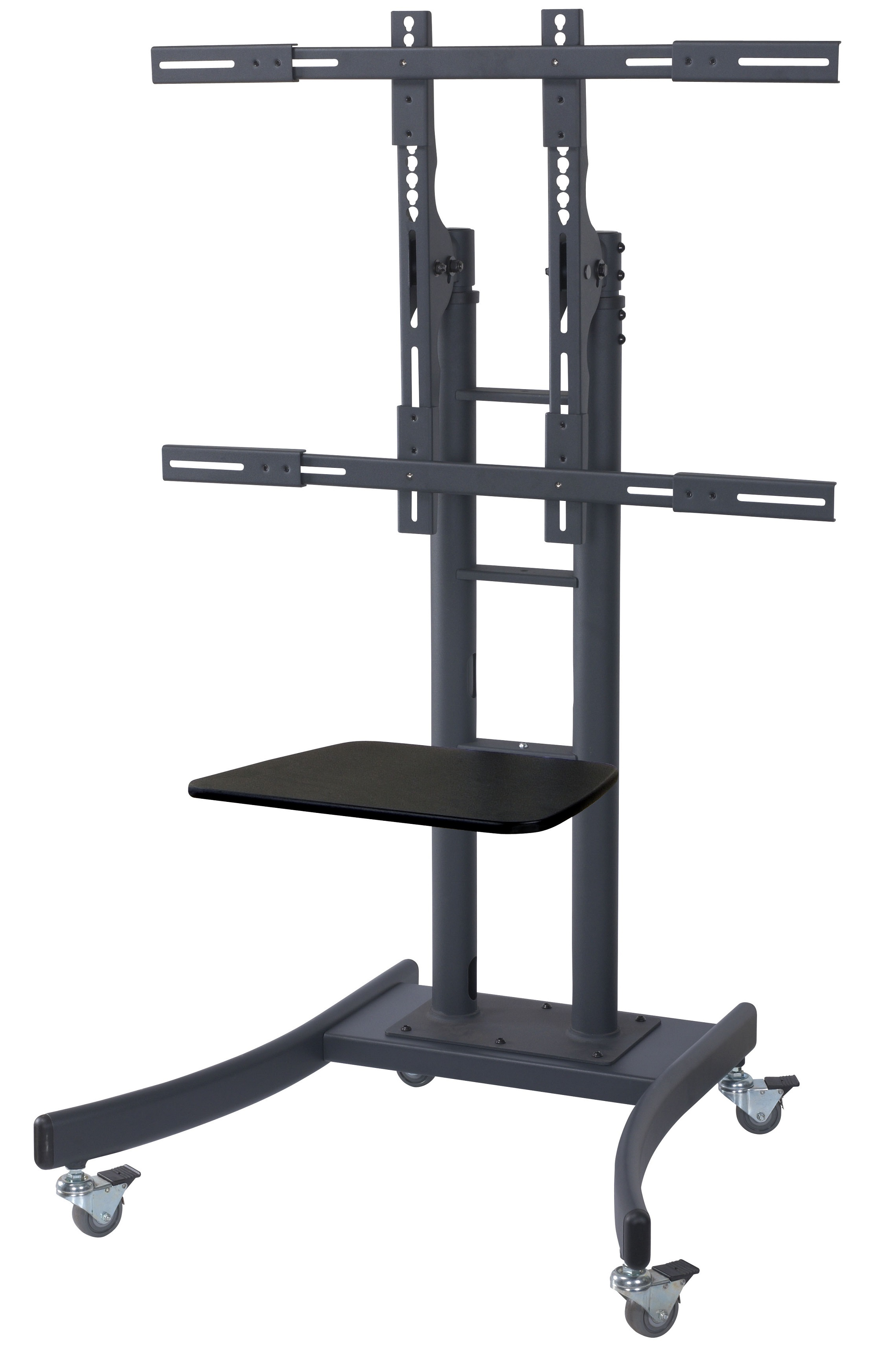 Tyke Supply Heavy Duty Commercial Mobile Tv Cart