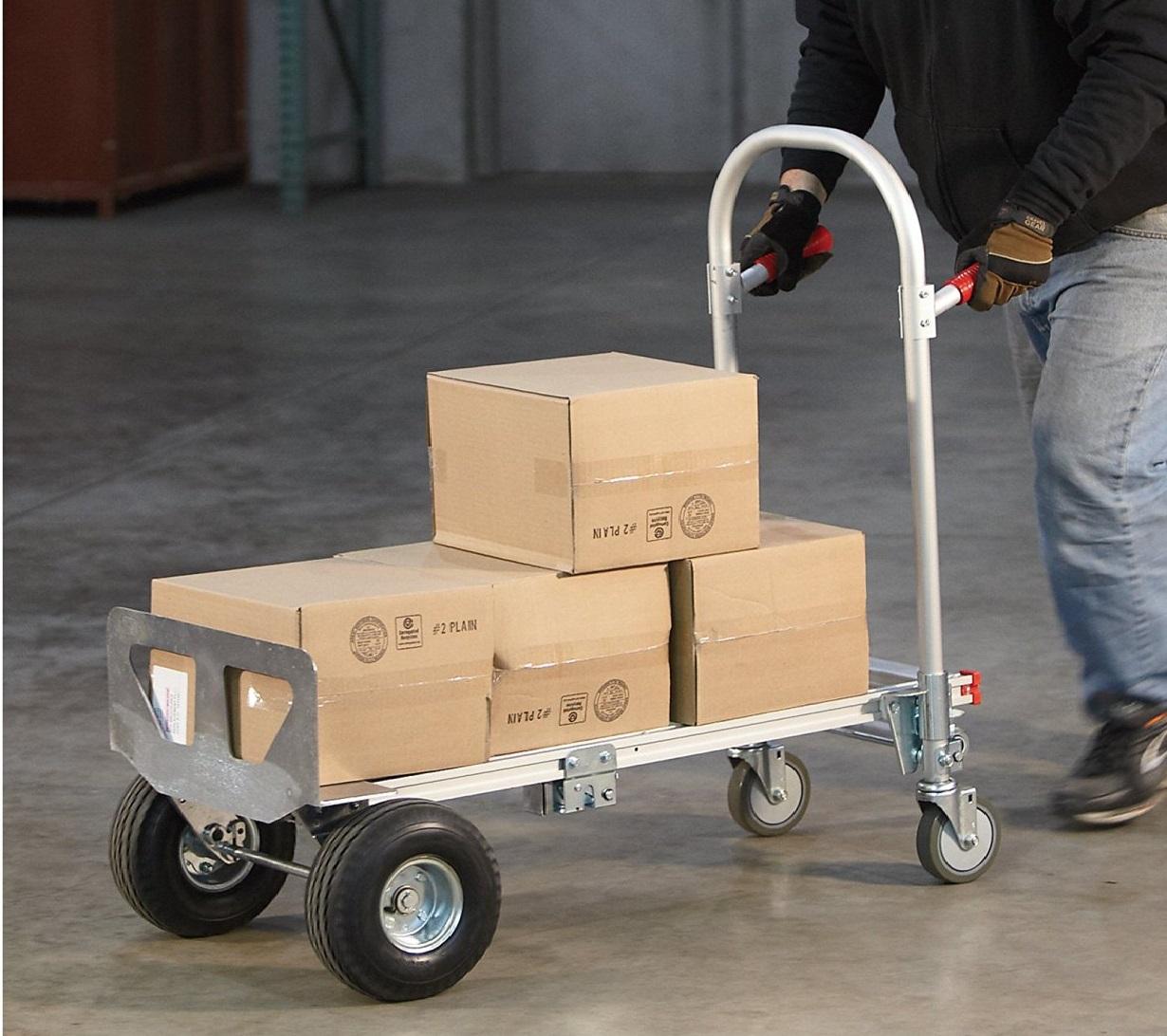 be47b91a9dcf Aluminum Hand Truck / Utility Cart