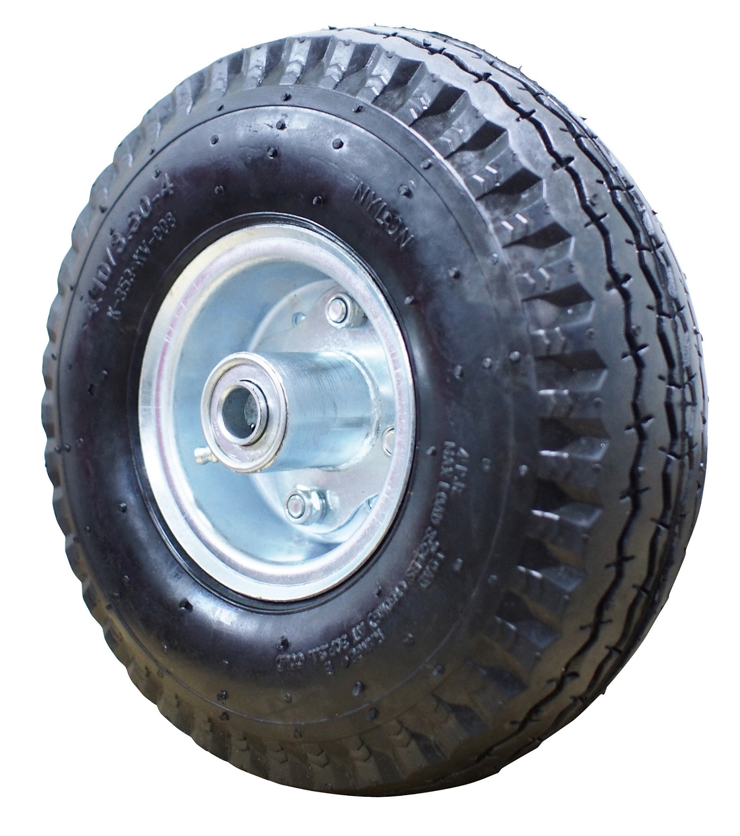 10 inch Pneumatic Air tire on steel rim