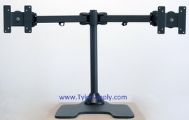 Dual Free Standing Monitor Stand