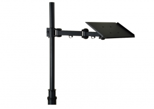 Camera mount for TV carts